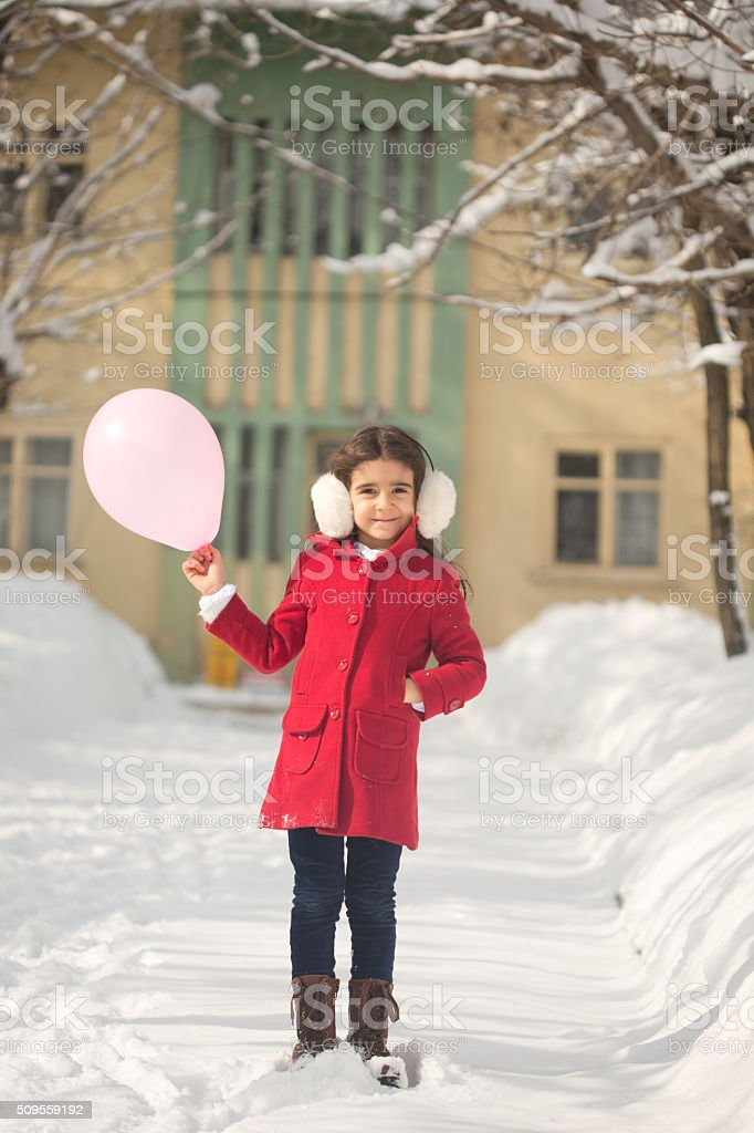 Cold weather stock photo