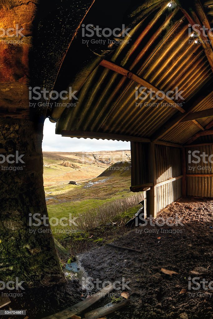 Coldberry, Middleton in Teesdale, County Durham, UK stock photo