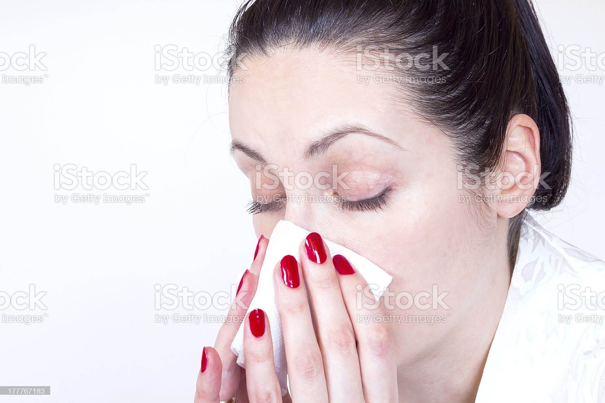 Colds royalty-free stock photo