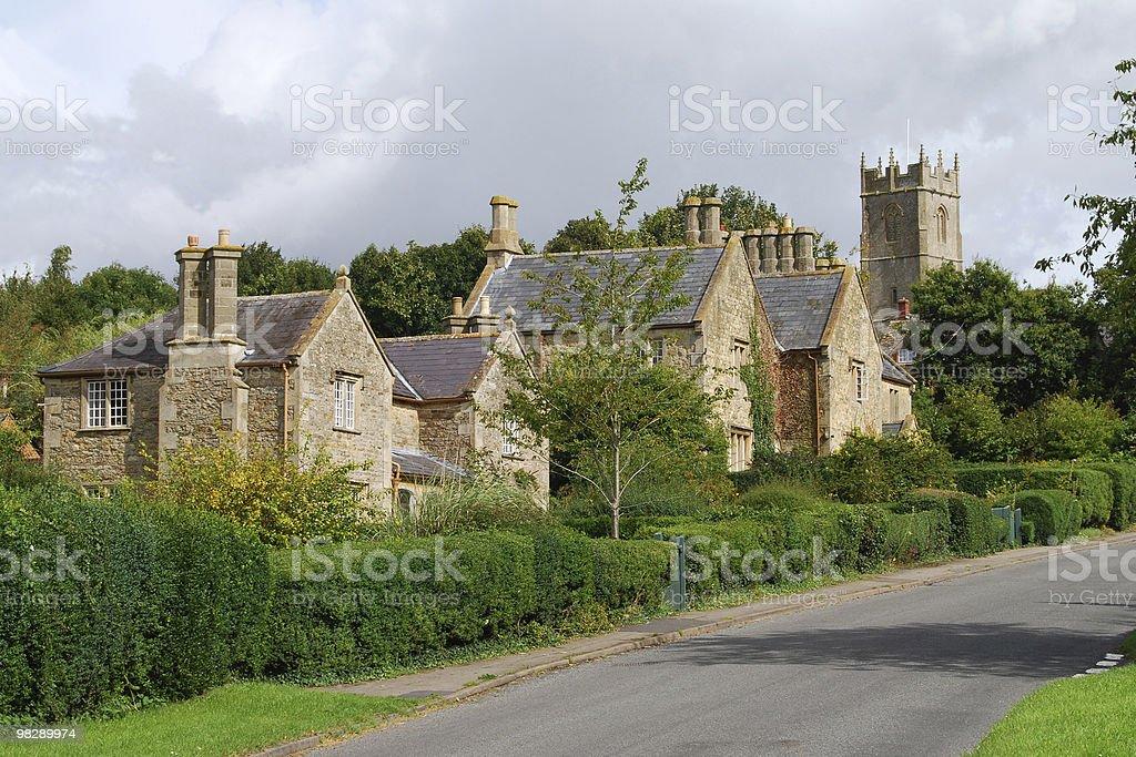 Coleshill, Oxfordshire, England stock photo