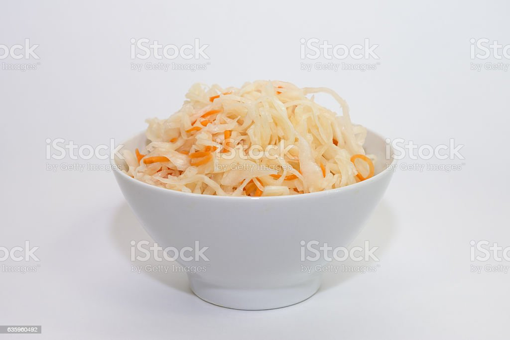 coleslaw and carrots stock photo