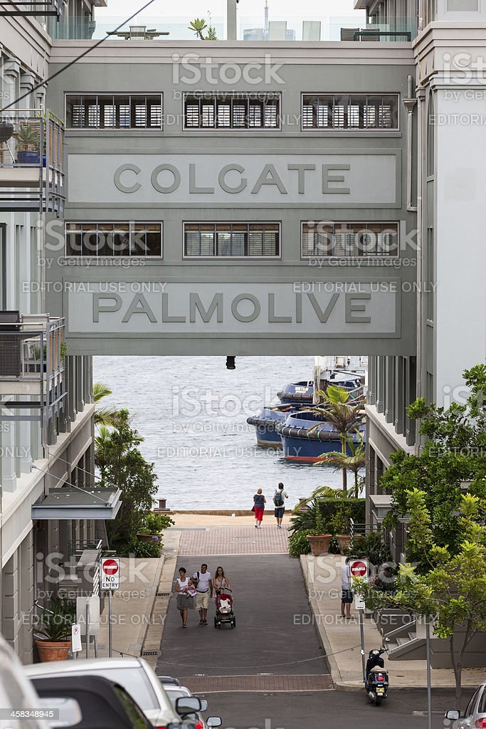 Colgate Palmolive royalty-free stock photo