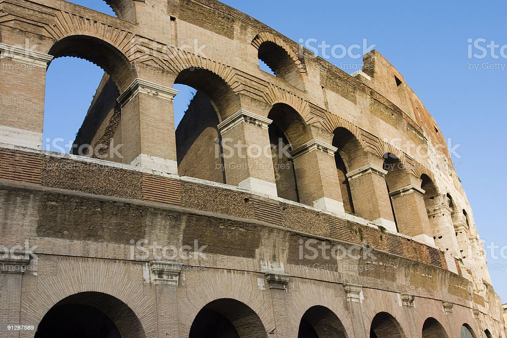 Coliseum from Rome royalty-free stock photo