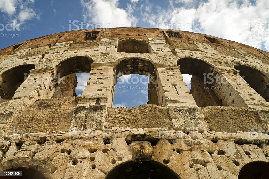 Coliseum in Rome, Italy royalty-free stock photo