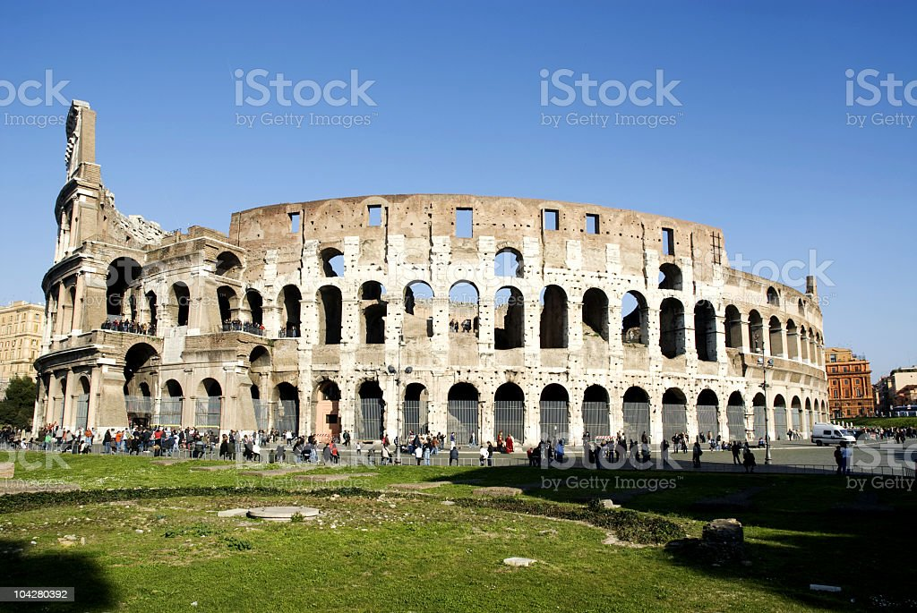 coliseum royalty-free stock photo