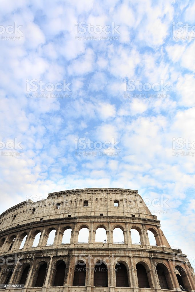 Coliseum royalty-free stock photo