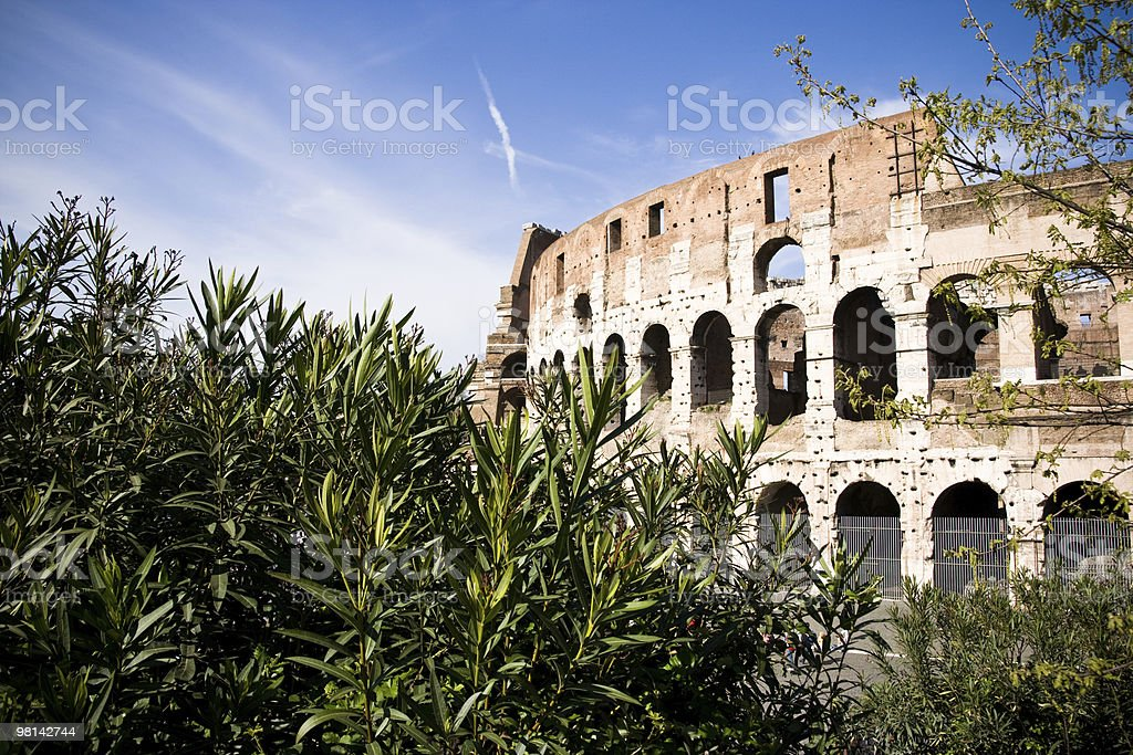 Coliseum stock photo
