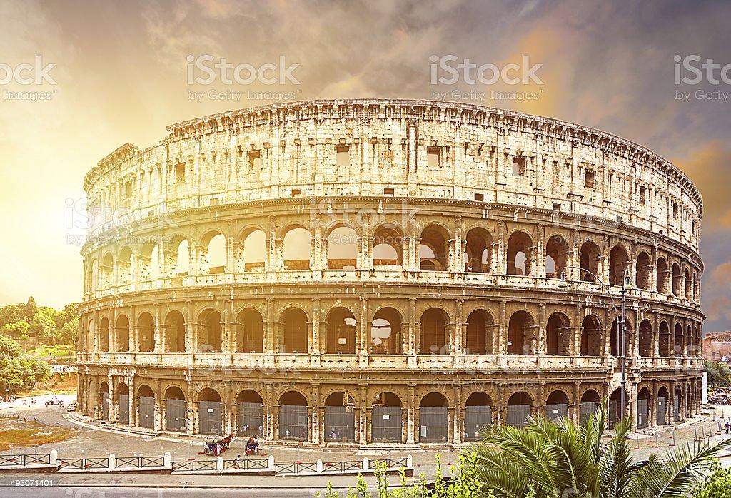 Coliseum. Rome. Italy. stock photo