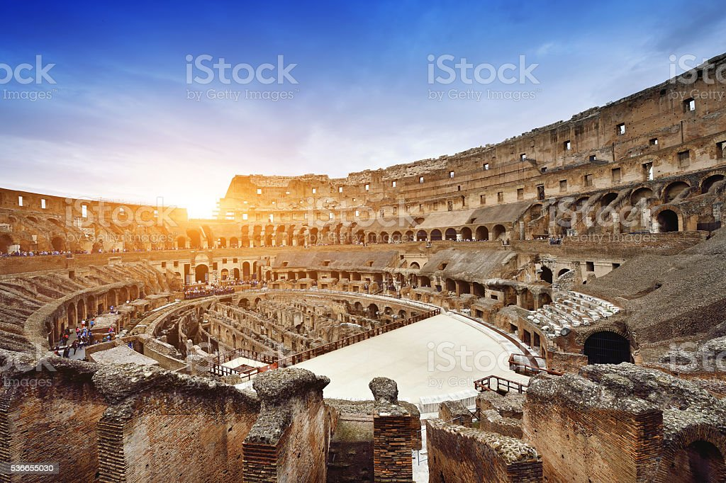 Coliseum, Rome stock photo