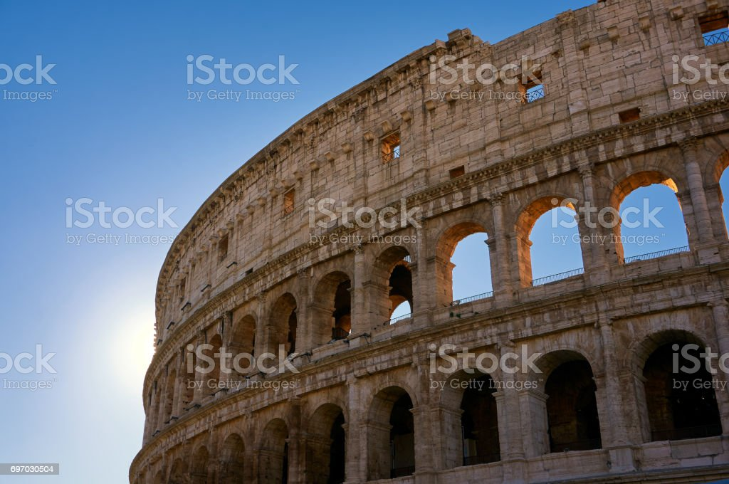 Coliseum View stock photo