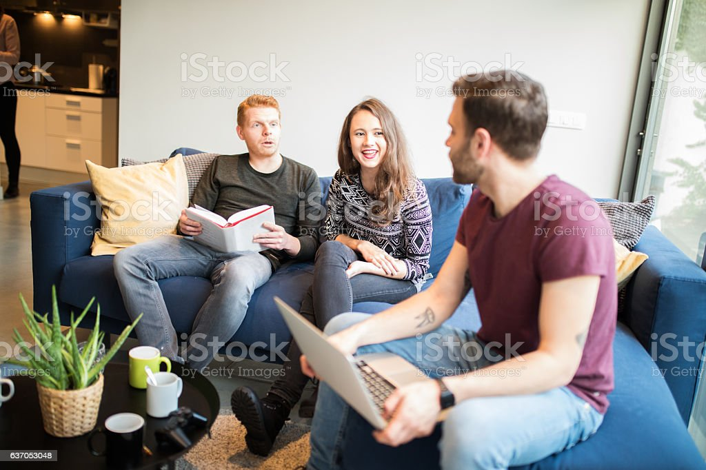 Coliving stock photo