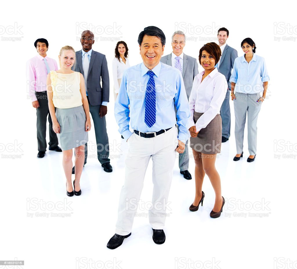 Collaboration Colleagues Corporate Cooperation Concept stock photo