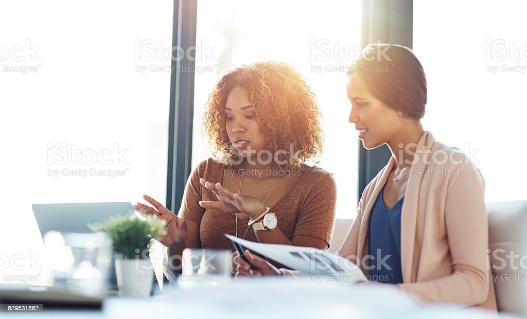 Collaboration is key to producing effective solutions stock photo