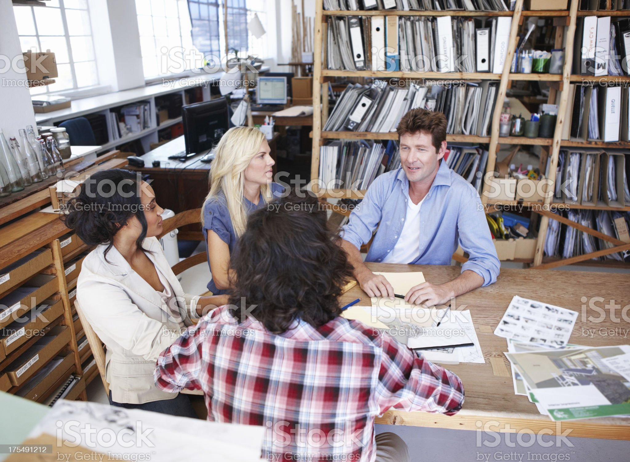 Collaboration is paramount when it comes to design royalty-free stock photo