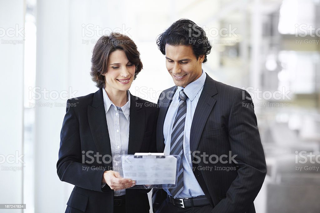 Collaboration is the key to success royalty-free stock photo