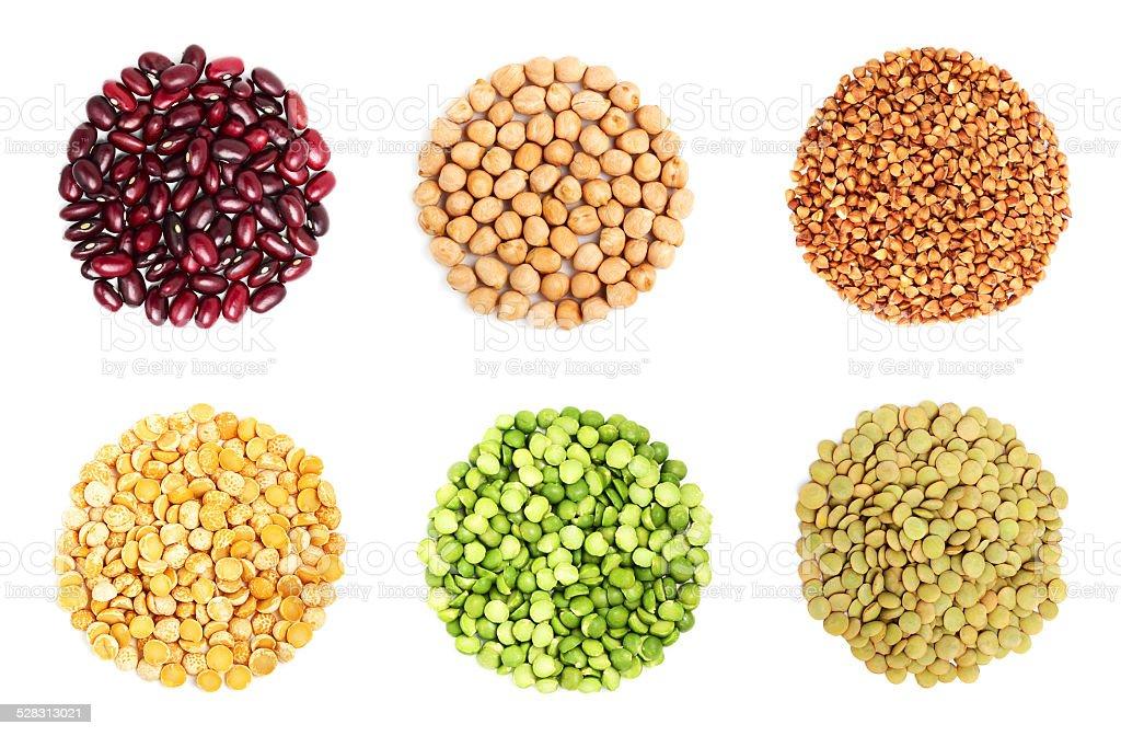 Collage De Cereales Stock Foto E Imagen De Stock 528313021