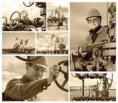 Collage oilfield