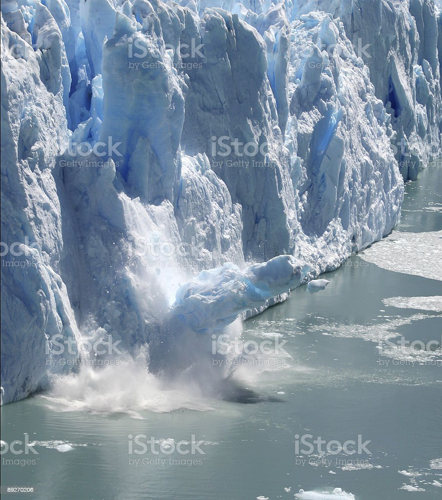 Collapsing Stack Descent royalty-free stock photo
