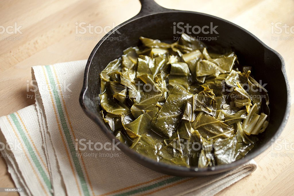 collard greens royalty-free stock photo