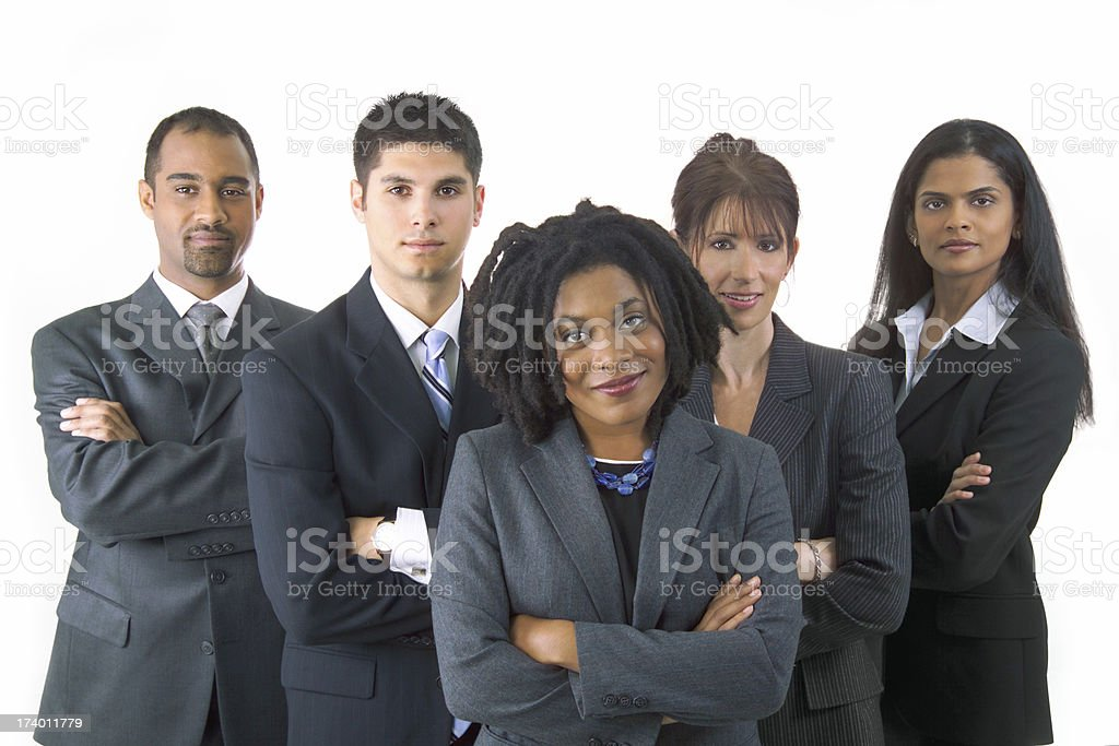 colleagues royalty-free stock photo