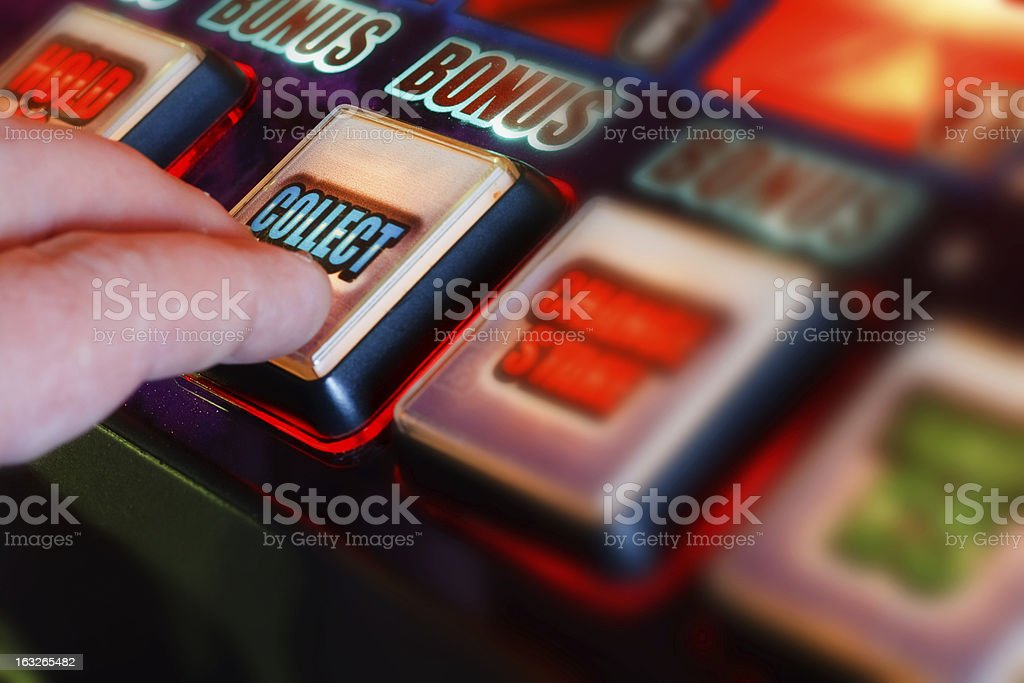 collect winnings royalty-free stock photo