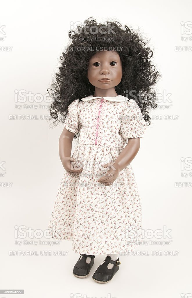 Collectibe Julie Good Kruger African American Doll stock photo