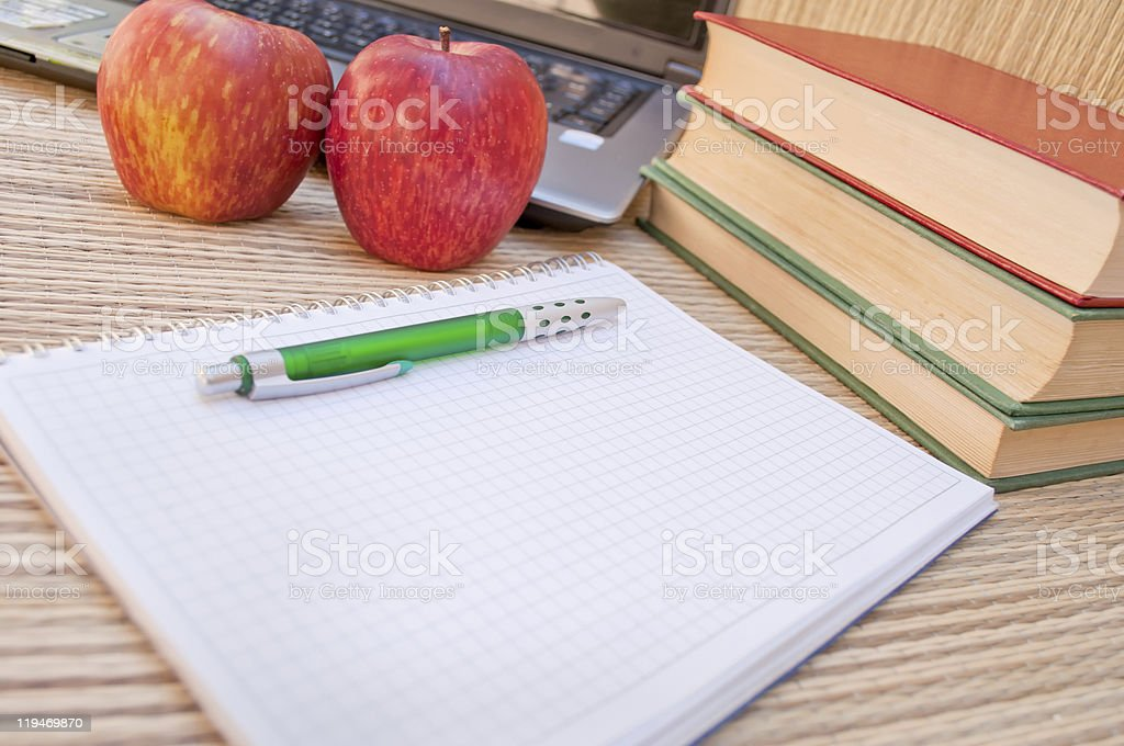 Collecting notes royalty-free stock photo