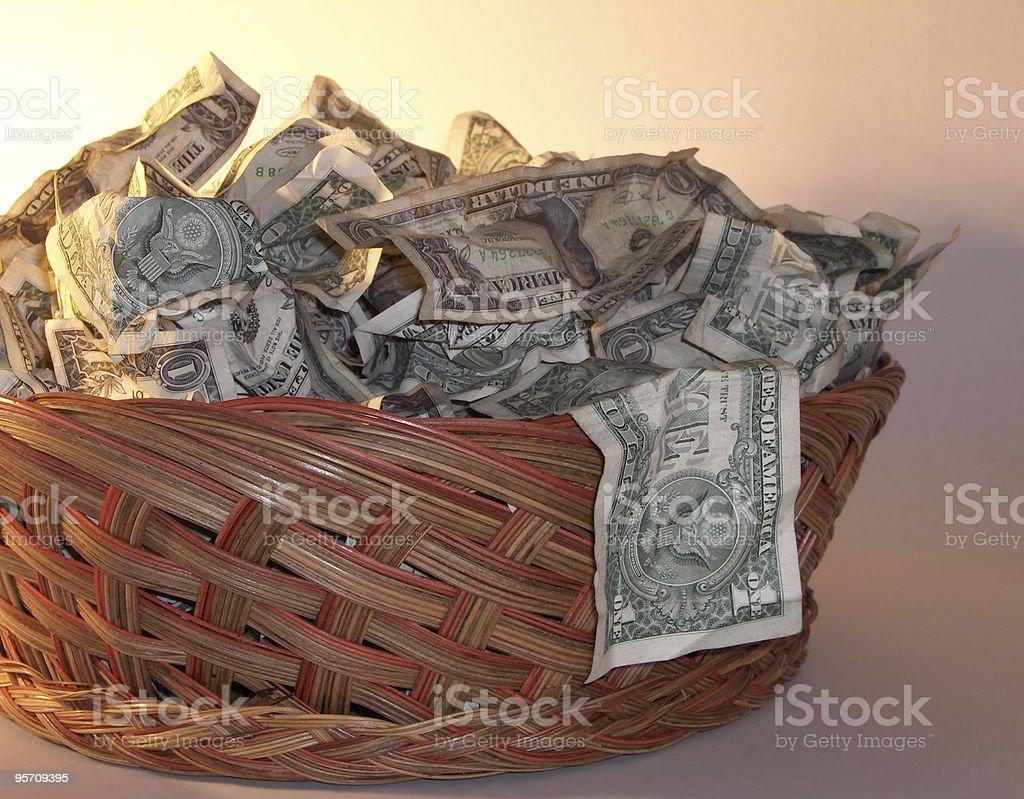 Collection Basket II stock photo