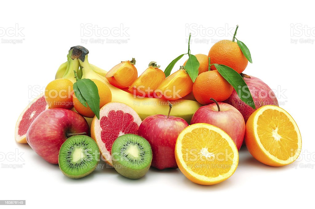 collection fruit royalty-free stock photo