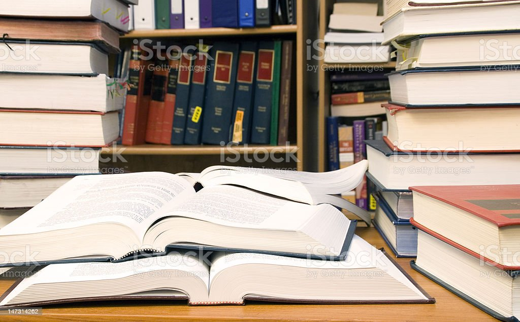 collection of books royalty-free stock photo