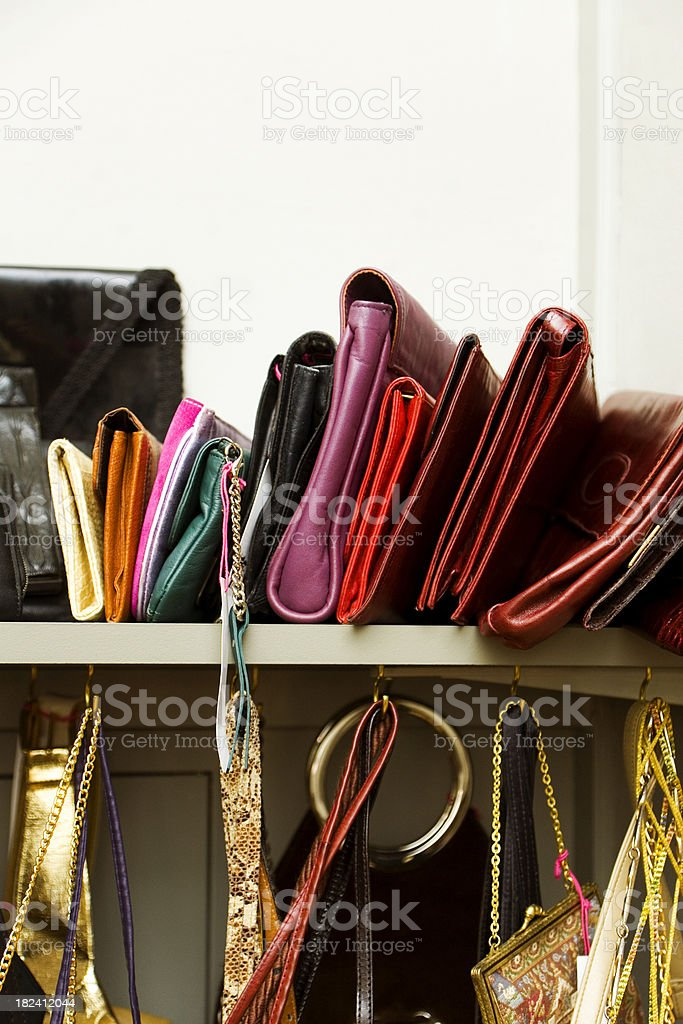 Collection of Handbags stock photo