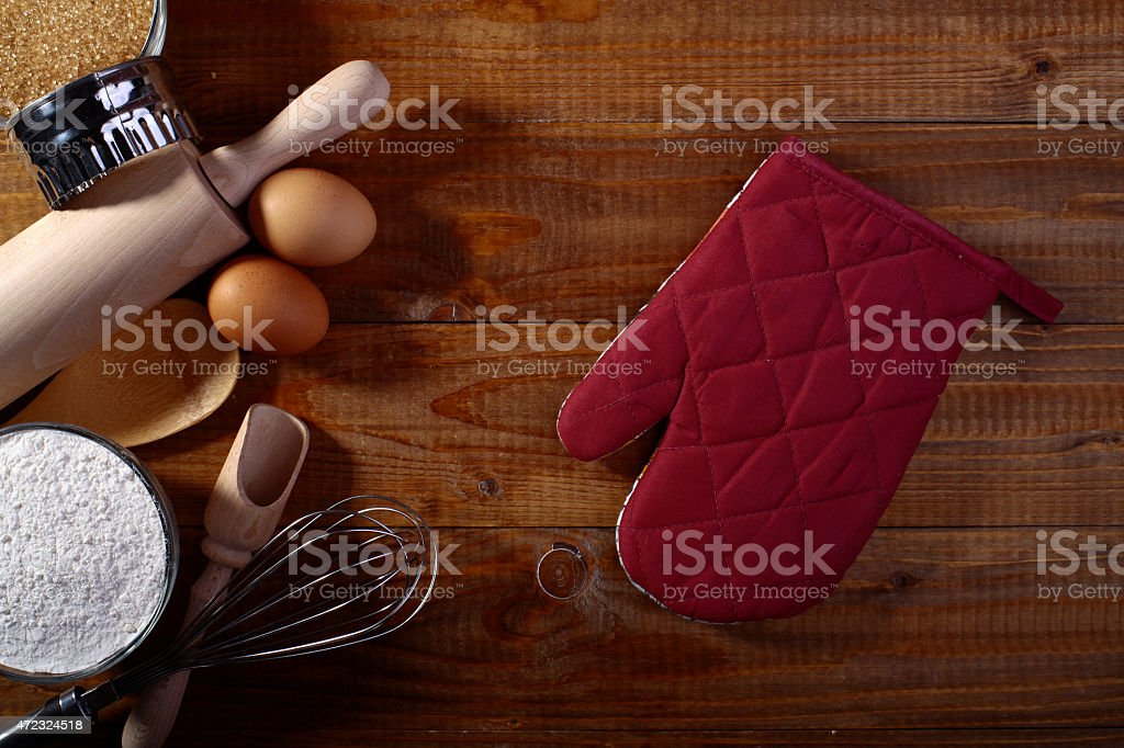 Collection of ingredients stock photo