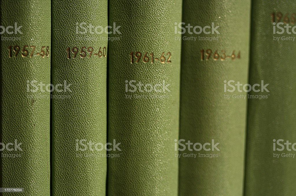 Collection of the Past stock photo