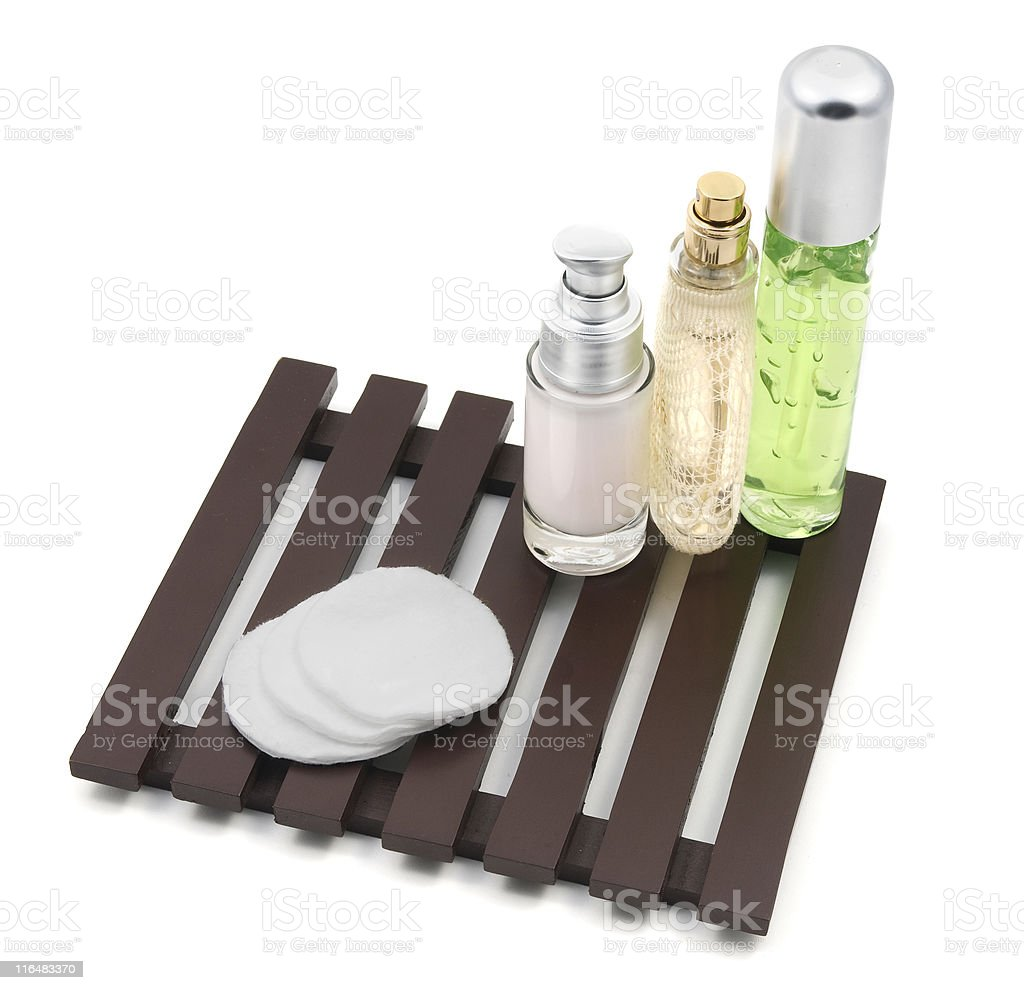 Collection of toiletries 3 royalty-free stock photo