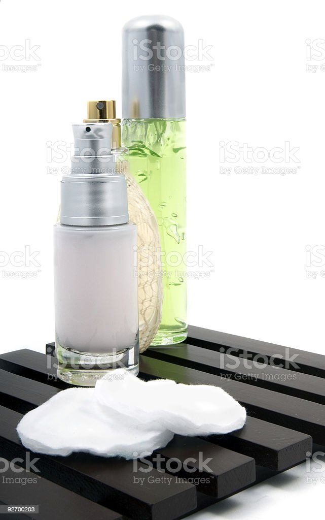 Collection of toiletries 4 royalty-free stock photo