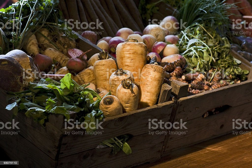 Collection of vegetables stock photo