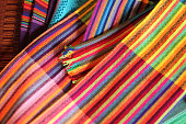 Collection of woven fabrics from Mexico & Central America.