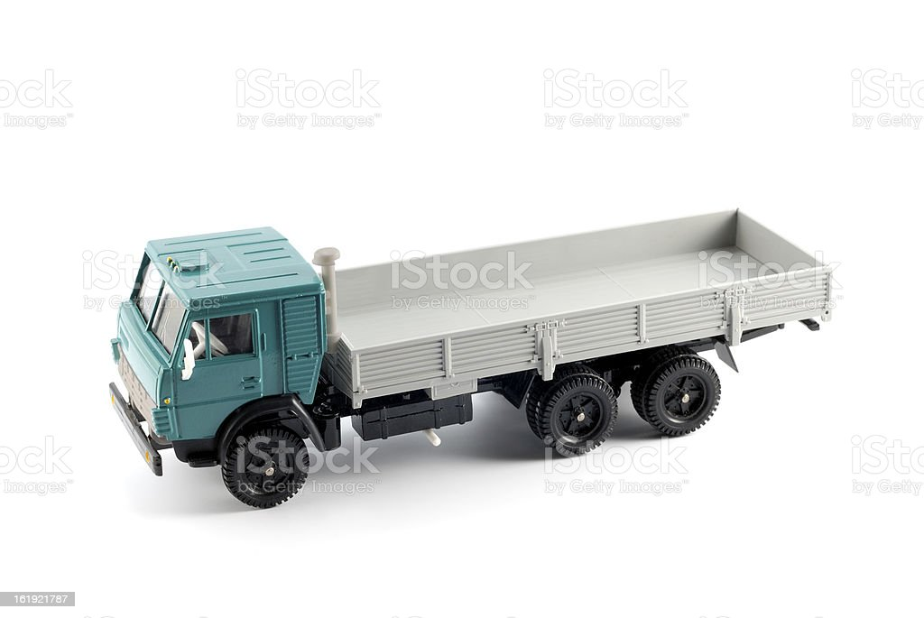 Collection scale model of the Onboard truck royalty-free stock photo