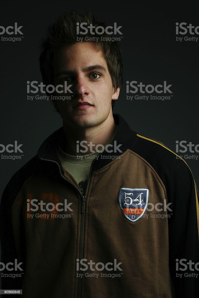 College age male royalty-free stock photo