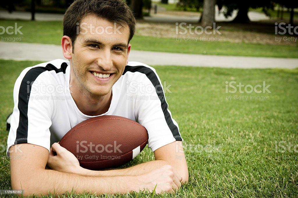 college athlete royalty-free stock photo