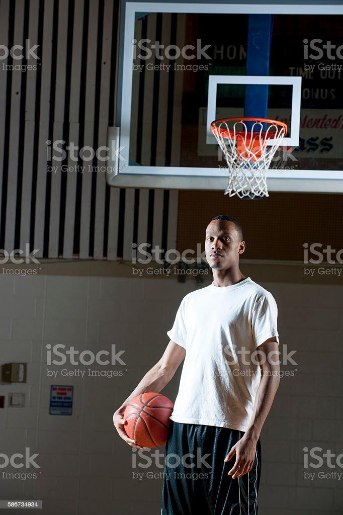 College Athlete stock photo