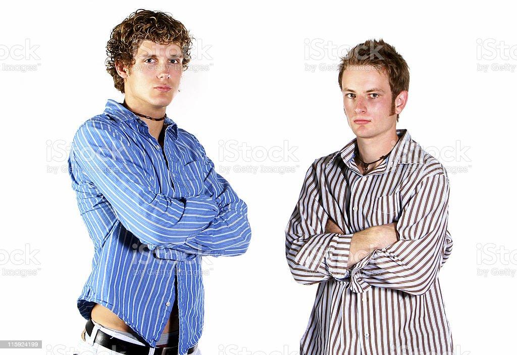 college buddies royalty-free stock photo
