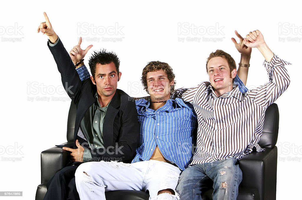 college buddies royalty-free stock photo