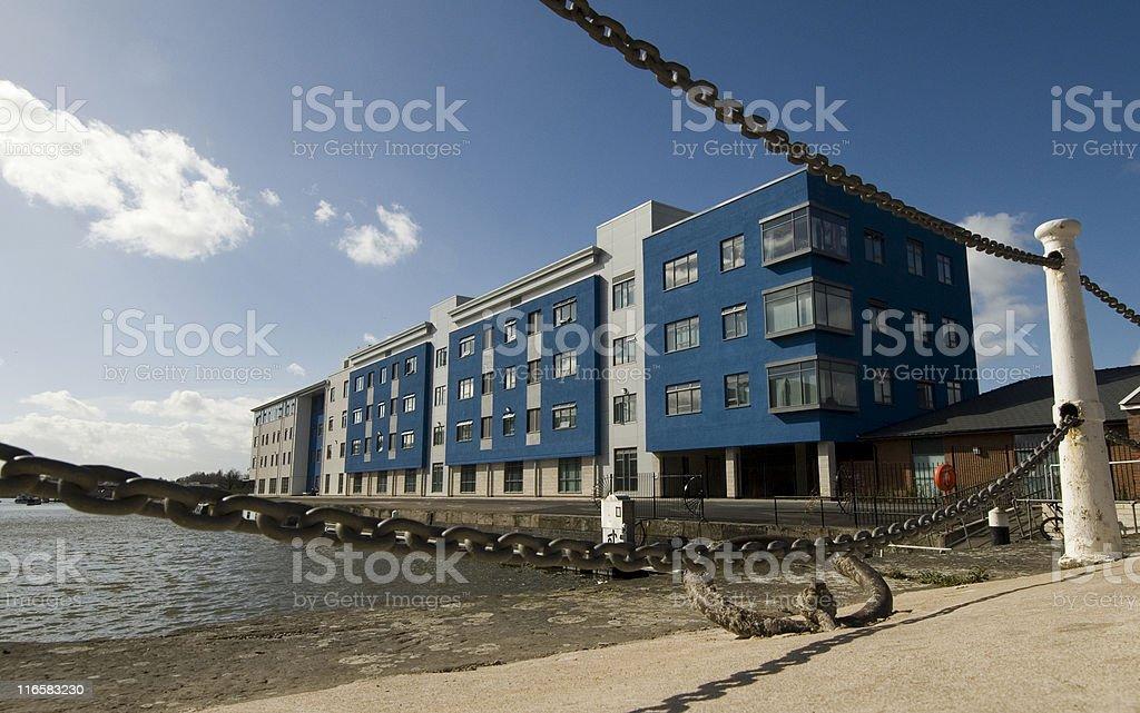 College Building, Gloucester stock photo