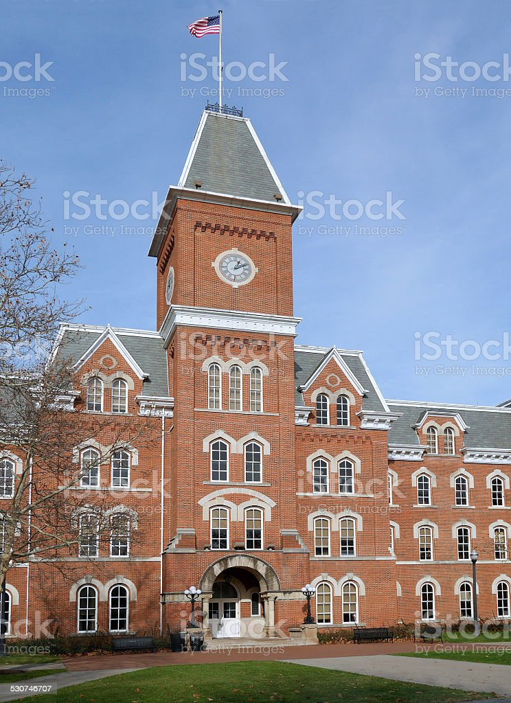 College building stock photo
