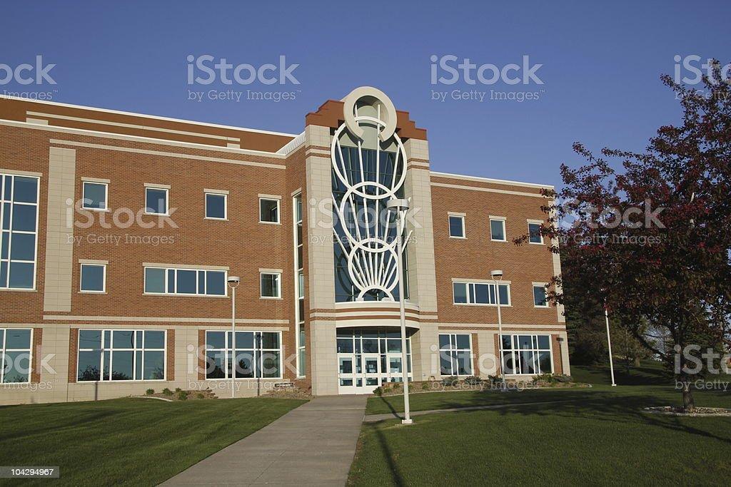 College Campus Building stock photo