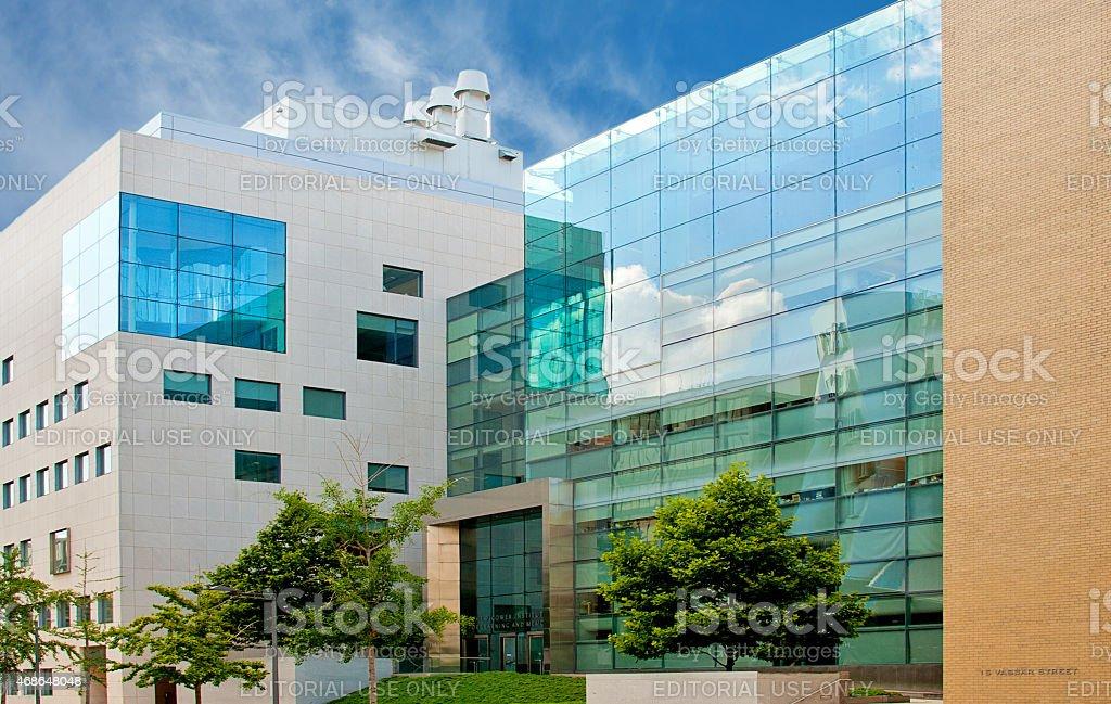 MIT College Campus, Cambridge stock photo
