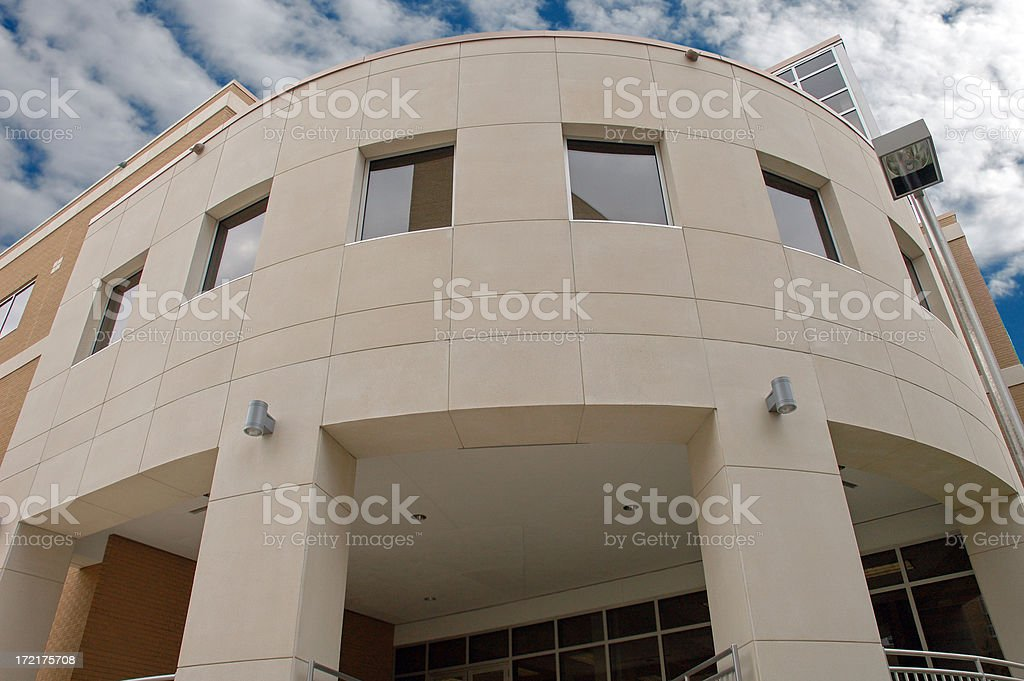 College Campus III royalty-free stock photo