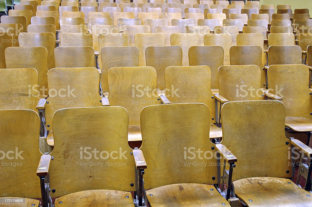 College Classroom royalty-free stock photo