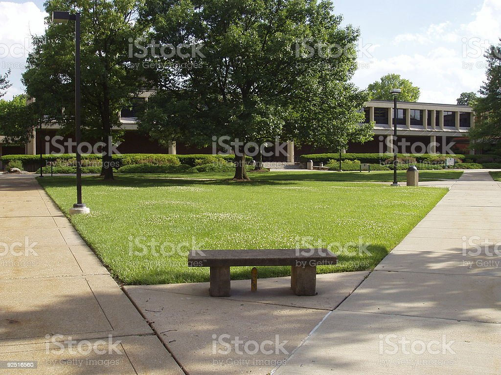 College / Corporate Campus stock photo
